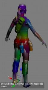 Unity Skeletal Ragdoll / Jiggle Bones Tutorial | James O