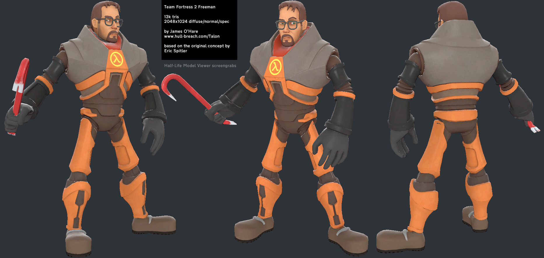 james o u0026 39 hare  game character artist  team fortress 2