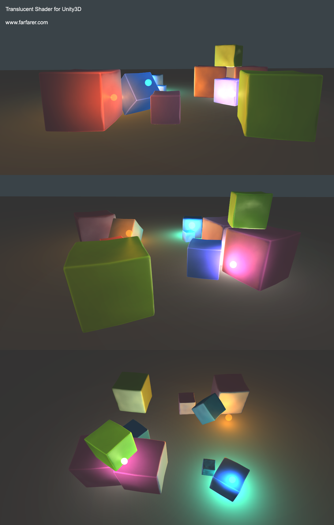 Translucent Shader for Unity3D | James O'Hare, Game